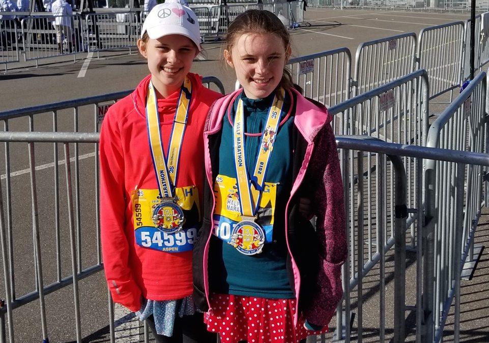 running with kids, half marathon with kids, disney half marathon with kids