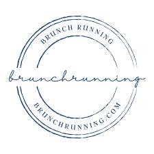Logo for brunch running event